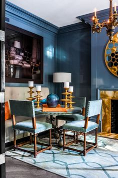 This NYC Home with a Celeb Pedigree Proves Lacquer Can Be Elegant