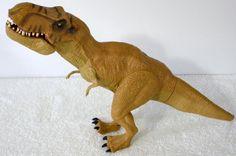 "2015 Hasbro Vinyl And Plastic Jurassic World T Rex Dinosaur 16"" Long #Hasbro"