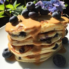 Simply whip up ABS Protein Pancake Mix and put fresh blueberries & chocolate chips in them! Add whipped vanilla for extra protein, and top with creamy peanut butter... Eating clean has never been so easy! Click on the image to order your ABS Pancake Mix now!