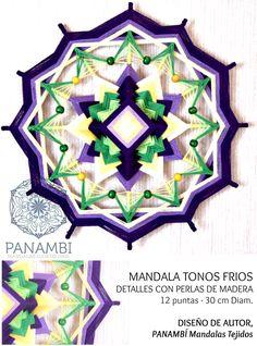 CREACIONES PANAMBÍ - PANAMBI, MANDALAS TEJIDOS