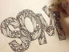 Patterned Letters