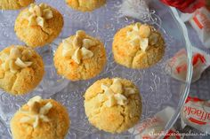 Biscuit sablé à la noix de coco & chocolat blanc