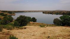 vue sur le fleuve Sénégal du fort de Médine