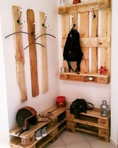super 22 Affordable hallway ideas with pallets - Ellise M. - super 22 Affordable floor decor ideas with pallets – -