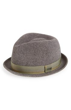 Free shipping and returns on rag & bone Wool Trilby Hat at Nordstrom.com. A sleek grosgrain band wraps the base of a wool trilby—cousin of the fedora—with a classic turned-up brim.