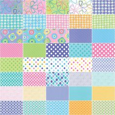 Amazon.com: Moda Grow Jelly Roll by Me and My Sister Designs #22270JR
