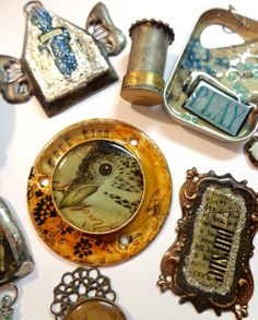 Huge Lot of Mixed Media Jewelry Findings Sold by catcreations92b