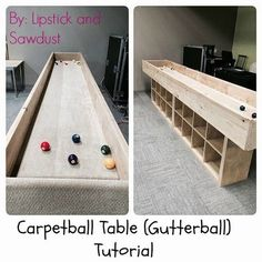 Free Carpetball Table Designs   Stuff   Pinterest   Free, Youth And Gaming