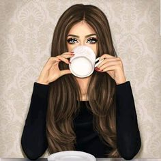 Find images and videos about art, girly and drawing on We Heart It - the app to get lost in what you love. Beautiful Girl Drawing, Cute Girl Drawing, Cartoon Girl Drawing, Cartoon Art, Best Friend Drawings, Girly Drawings, Sarra Art, Chica Fantasy, Girly M