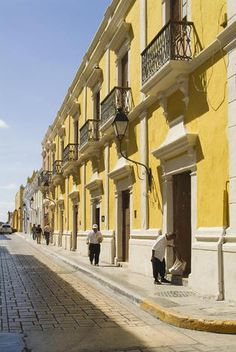 Historic town of Campeche, Walls, doors and windows, Province of Campeche, Yucatan peninsula, Mexico, UNESCO World Heritage Site