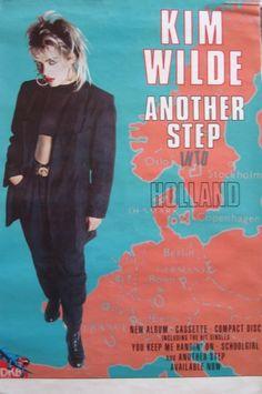 Concert poster, Netherlands, 1986.