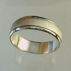 Man Wedding Band Woman Wedding Band14 karat  ring by Avinoo, $440.00