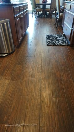 Shaw Porcelain Tile Fired Hickory In Pecan House