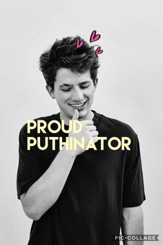 Charlie puth background #proudputhinator