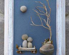 Family arte de piedra / Rock arte familia familia por CrawfordBunch