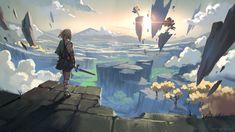 Image Zelda, Legend Of Zelda Breath, Twilight Princess, Video Game Characters, Fanarts Anime, Breath Of The Wild, Location History, Cool Art, Concept Art