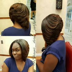 Pronto Quick Weave || Layers on Layers   IG: Shayes_dvine_perfection FB: Shayes D'vine Perfection Book online at; ➡Www.styleseat.com/shalandawilliams2