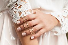 Lace and Stacked Rings