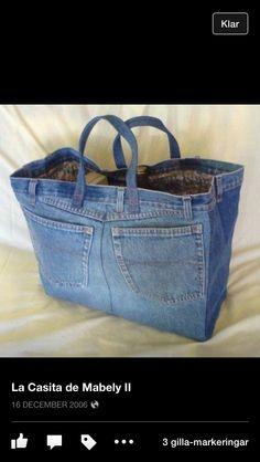 Väska av jeans