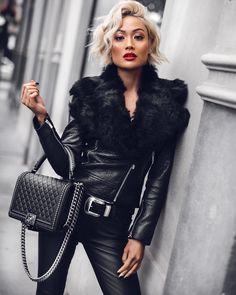Micah-Gianneli-Vogue-Fashion-Editorial-Blogger-Melbourne-Australia-Street-Style-Farfetch-Balmain-Rebecca-Vallance-House-of-Harlow-Camilla-and-Marc-Chanel-Leather-Biker-Jacket-Designer-Luxury