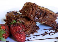 Lenten Chocolate - My Greek Dish Tasty Brownie Recipe, Brownie Recipes, Cookbook Recipes, Dessert Recipes, Cooking Recipes, Desserts, Death By Chocolate, Melting Chocolate, Chocolate Muffins