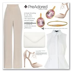 """Pre Adored 7/II"" by amra-mak ❤ liked on Polyvore featuring MaxMara, Alexander Wang, Charlotte Russe, Neiman Marcus and PreAdored"