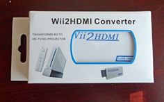 Hdmi Convertor Kit for Nintendo Wii 2 Hdmi with Headphone Jack. Variation: PatternName (Wii2HDMI Only). 3.5mm Stereo Audio Jack x 1. Supports all Wii display modes (NTSC 480i 480p, PAL 576i). Color: White1. Provides advanced signal processing with great precision. Plug and play as you go. With just one HDMI cable, plug and play for true-to-life video/audio. effects on your HDTV/monitor. Hassle Free! Dimensions: 34 x 73 x 14 mm. No power adaptor, no messy cords-just one HDMI cable.