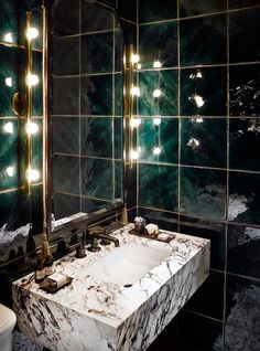 HotelChelsea - desire to inspire - desiretoinspire.net - Kara Mann - green tile