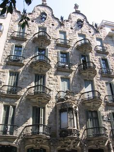 Barcelona Casa Calvet by Gaudi