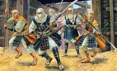 Pinturas de Guerra — Samurai-naginata - box art Zvezda ...