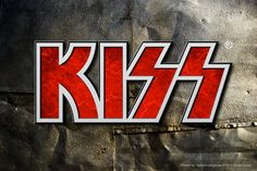 "KISS logotype by Torbjorn ""Toby"" Jorgensen, via Behance Kiss Logo, Ace Frehley, Hot Band, Name Logo, Behance, Logos, Artwork, Work Of Art, Auguste Rodin Artwork"