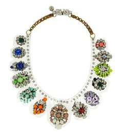 In stock Shourouk Necklace Multicolor Duma Kami Crystal/Pvc Necklace,Bib necklace.New items! High quality!Free Shipping! $62.90