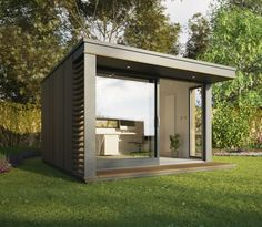 Mini Pod from Picsity.com. Pool house/guest cottage?