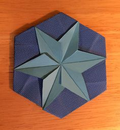 Image result for hexagon origami