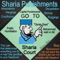 WE DON'T WANT SHARIA LAW in the United States. In front of Cameras The Muslim Brotherhood masquerading as Civil Rights Groups asking for peace. Behind cameras they call America a GARBAGE CAN & don't consider Hamas or Hezbollah Terrorists. In Islam there IS NO DIVISION between Religion and Politics/government.  Watch the documentary by Steve Emerson 'Jihad in America'.