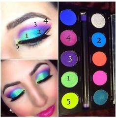 I am so intrigued with this eyeshadow look. I have this Urban Decay electric palette myself so I think I will try it Makeup Goals, Love Makeup, Makeup Inspo, Makeup Art, Makeup Inspiration, Makeup Ideas, Nail Ideas, Makeup Hacks, Urban Decay Electric Palette