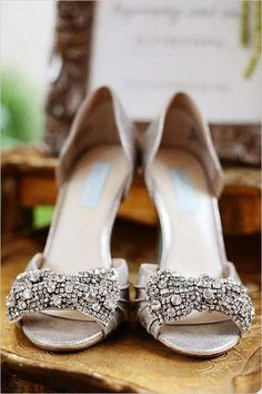 It says they are wedding shoes, but I would probably wear them all the time! So cute!