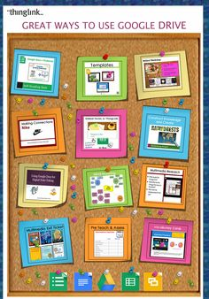 TOUCH this image: 12 Great Ways to Use Google Drive by Susan Oxnevad by Susan Oxnevad