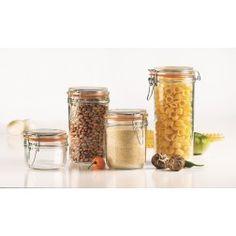 Italian Round Hermatic Jar 24 oz