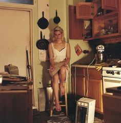 """""""Lana at her apartment in 2008, photo by Caroline Grant"""""""