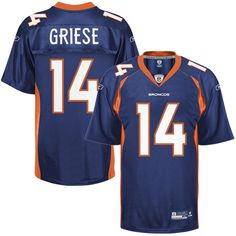 $25.00 Reebok NFL Jersey Denver Broncos Brian Griese #14 Navy