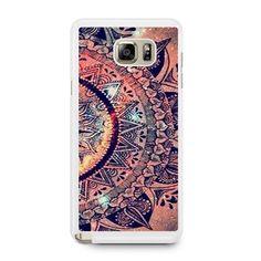 Mandala Datura Samsung Galaxy Note 5 Case