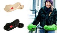 Manchons pour guidon de vélo