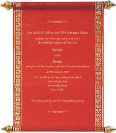 Image detail for -Indian Wedding Invitations (9 of 20)
