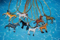 8 Horse Necklace LOT Favor Plastic Figurine Saige American Girl Birthday Party   eBay GENIUS
