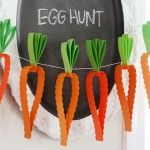 Easter Bunny and Carrot Decor