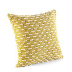 Kissenbezug Jerry 45 x 45 cm, gelb für 16,90 EUR