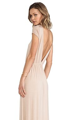 Rachel Pally Lucille Dress in Bamboo | REVOLVE $238  Could be pretty with a big statement necklace :)
