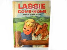 Lassie Come Home 1956 Wonder Storybook by by TheSandlapperShop, $9.00
