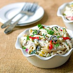 pasta salad pasta with peas smoked almonds and dill sounds like the ...